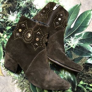 Sigerson Morrison Cailyn Studded Ankle Boot 10